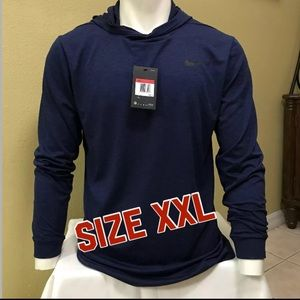 47f5d834e Nike Shirts | New Men Breathe Hyper Dry Hoodie Shirt Xxl | Poshmark